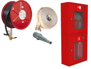 составляющие внутреннего противопожарного водопровода