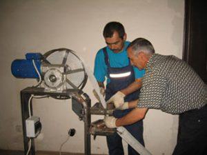 испытание водопровода