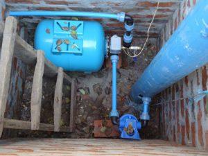 водопровод от центрального водоснабжения