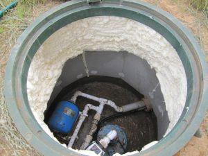 колодец для водопровода