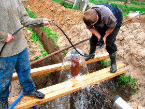 артезианская скважина для водопровода