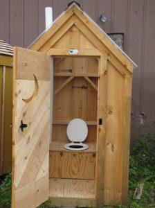 туалет без канализации