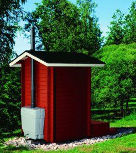 туалет с кабиной