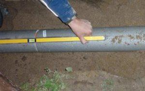 какой уклон канализации