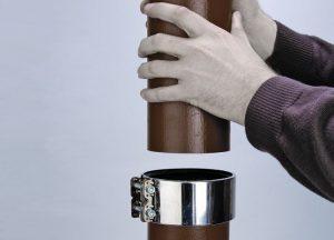 монтажное соединение труб