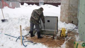 обслуживание септика зимой