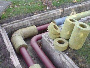 утепление канализации