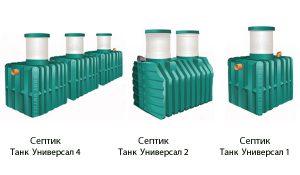 виды септика танк