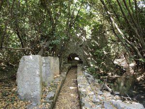 древний водопровод